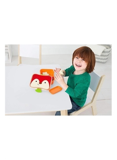 Skip Hop Skip Hop Zoo Tilki Desenli Renkli Çocuk Beslenme Kutusu Pembe